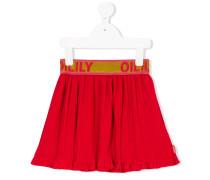 branded waistband skirt
