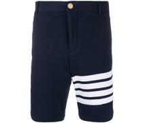 Chino-Shorts mit Logo-Streifen