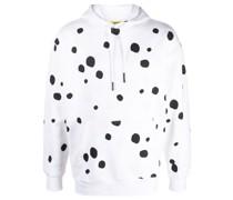 Hoodie mit Dalmatiner-Punkten