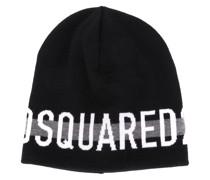 Mütze mit Jacquard-Logo