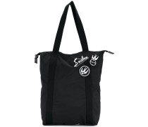 Swallow patch detail tote