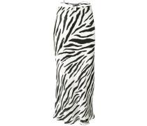 Gerader Rock mit Zebra-Print