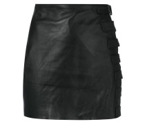 fitted buckle skirt