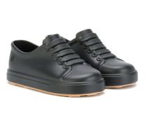 Sneakers mit Spitzendetail