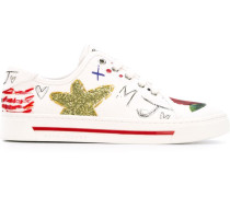 'Collage Print' Sneakers