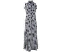 sleeveless diamond shirt dress