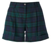 P.A.R.O.S.H. Karierte Shorts