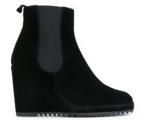 Chelsea-Boots mit Keilabsatz