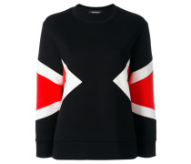Sweatshirt im Scuba-Look