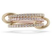 18kt 'Aurora' Goldring mit Diamanten