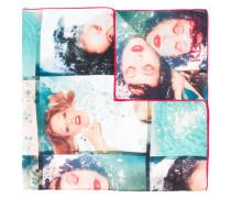 Seidenschal mit Foto-Print - women - Seide