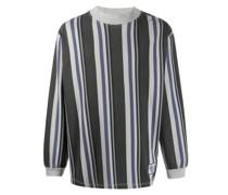 Gestreiftes Oversized-Sweatshirt