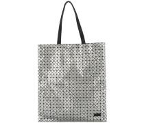 Handtasche mit Metallic-Effekt