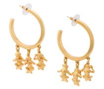 no evil drop earrings