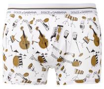 - Shorts mit Instrument-Print - men - Baumwolle