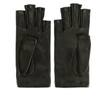Fingerlose Lederhandschuhe - women
