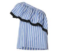 - Asymmetrische Bluse - women - Seide/Baumwolle