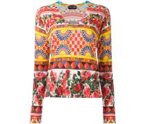 Mambo print jumper - women - Seide - 50