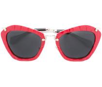 - Oversized-Sonnenbrille - women - Acetat/Metall