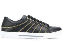 zip detail sneakers
