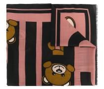 teddy print scarf