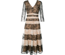 - striped lace dress - women