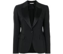 fitted tuxedo blazer