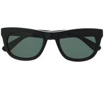 Sonnenbrille mit geschwungenem Gestell