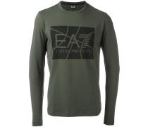 logo print longsleeved T-shirt