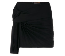 pleat detail skirt