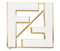 Zweifarbige FF-Brosche