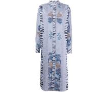 Klassisches Jacquard-Kleid