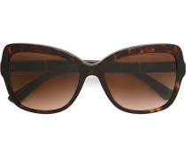 Oversized-Sonnenbrille mit Schmetterlingsgestell