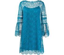 Gestuftes Kleid mit Stickereien