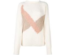 'zig-zag' pullover