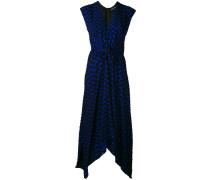 - Seidenkleid mit geometrischem Print - women