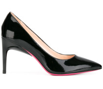 Lacklederpumps mit Kontrastsohle - women