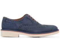 Oxford-Schuhe mit Budapestermuster - men
