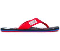 Flip-Flops mit Logo-Prägung