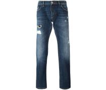 'Flamingo' Jeans mit geradem Bein