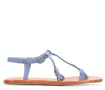 Sandalen mit Quasten - women - Leder/Wildleder