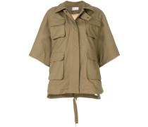 back patch cargo jacket