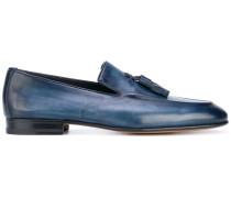 - Loafer mit Fransen - men - Kalbsleder/Leder - 9