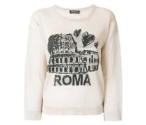 Bestickter 'Roma' Pullover