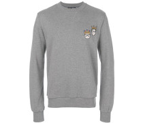 Sweatshirt mit Designer-Patch