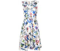 V-neck floral dress