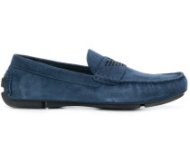 logo loafers