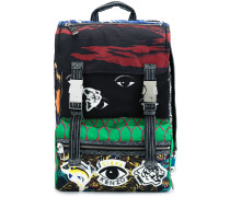 Rucksack mit verschiedenen Mustern