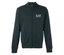 logo track jacket - men - Baumwolle - M