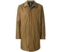 padded single breasted coat